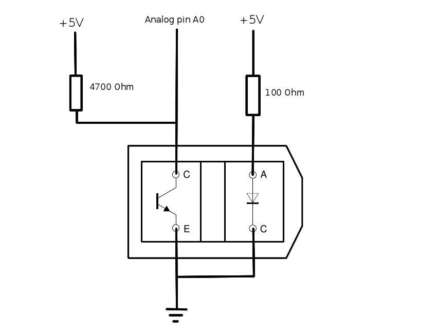 Tcrt5000 Optische Sensor Hobbyelectronica