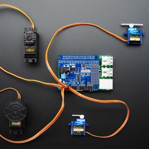 Adafruit 16-Channel PWM Servo HAT
